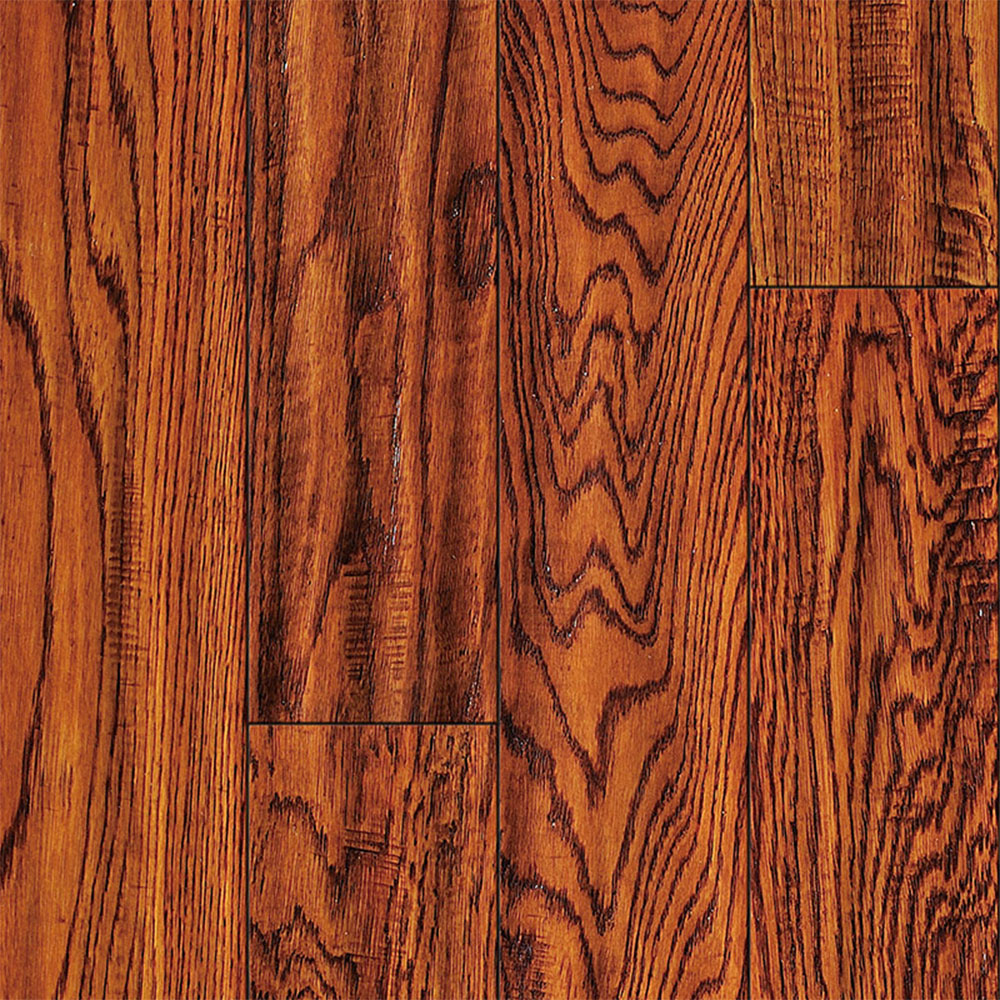 Ark Floors Artistic Distressed Solid 4 3/4 Oak Antique Hardwood Flooring
