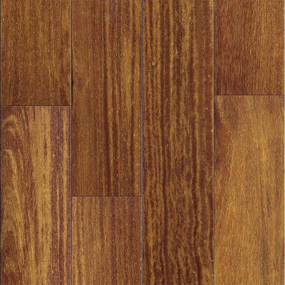 Ark Floors Elegant Exotic Solid 4 3/4 Brazilian Teak Cumaru Natural Hardwood Flooring