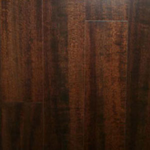 Ark Floors Patina Grand Engineered 4 3/4 High Gloss Ironwood Kahlua (DL) Hardwood Flooring
