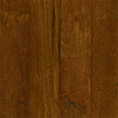 Armstrong American Scrape Engineered Hickory 5 Autumn Blaze (Sample) Hardwood Flooring