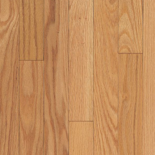 Armstrong Ascot Strip 2 1/4 Oak Natural (Sample) Hardwood Flooring