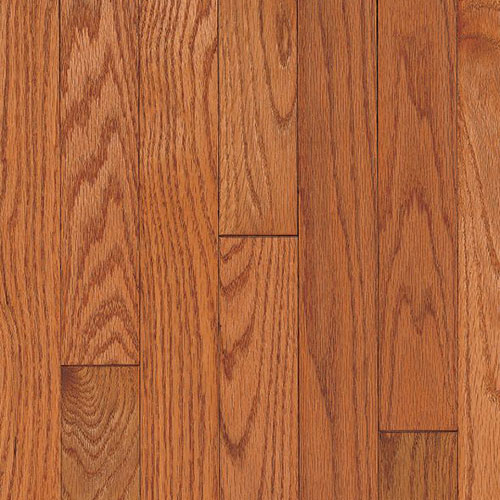 Armstrong Ascot Strip 2 1/4 Oak Topaz (Sample) Hardwood Flooring