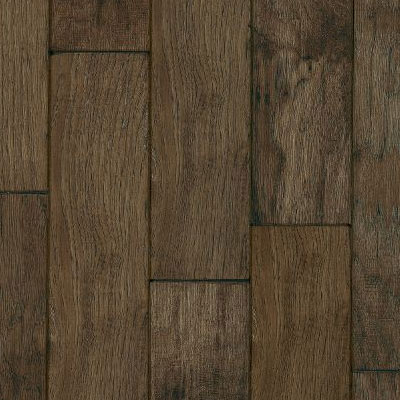 Armstrong Century Farm Hand-Sculpted 5 - Pillowed Mountain Smoke (Sample) Hardwood Flooring