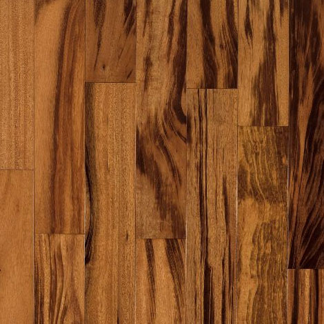 Armstrong Global Exotics Engineered 3 1/2 Tigerwood Natural (Sample) Hardwood Flooring