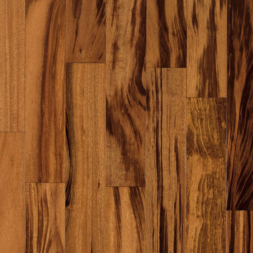 Armstrong Global Exotics Engineered 3 1/2 Tigerwood Natural Low Gloss (Sample) Hardwood Flooring