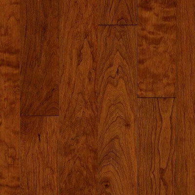 Armstrong Highgrove Manor Wide Width 5 Cherry Wood Berry (Sample) Hardwood Flooring