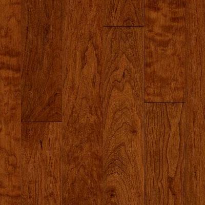Armstrong Highgrove Manor Wide Width 4 Cherry Wood Berry (Sample) Hardwood Flooring