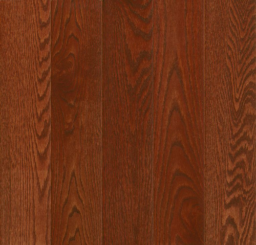 Armstrong Prime Harvest Solid Oak 5 Low Gloss Berry Stained (Sample) Hardwood Flooring