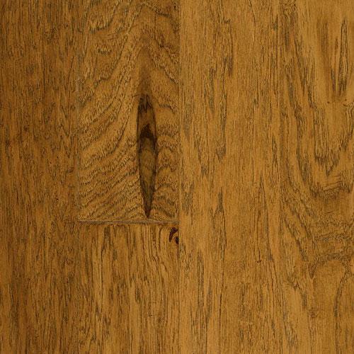 Armstrong Rural Living Hand Scraped 5 Hickory Light Chestnut (Sample) Hardwood Flooring