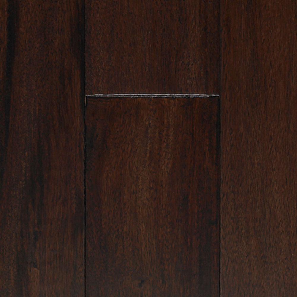 IndusParquet Engineered Handscraped 5 Tigerwood Black Hardwood Flooring