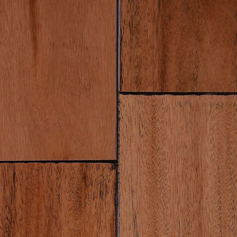 IndusParquet Engineered Handscraped 5 Tigerwood Hardwood Flooring