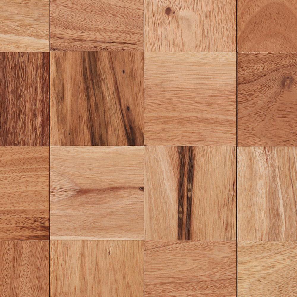 IndusParquet Coterie Mosaics - Squares Amendoim Hardwood Flooring