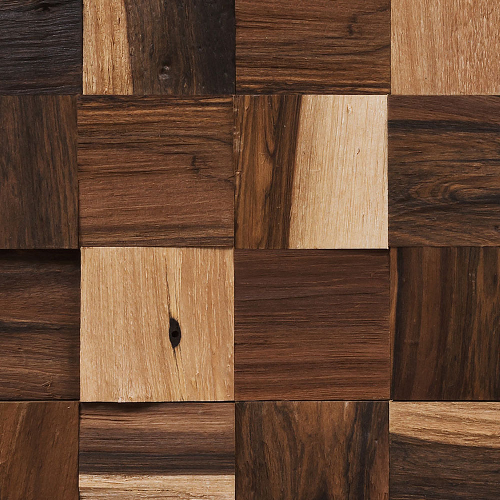 IndusParquet Coterie Sculptured Wall 1 3/4 x 1 3/4 Brazilian Pecan Hardwood Flooring