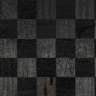 IndusParquet Coterie Sculptured Wall 2 5/8 x 2 5/8 - Ebony Ebony Angelim Hardwood Flooring