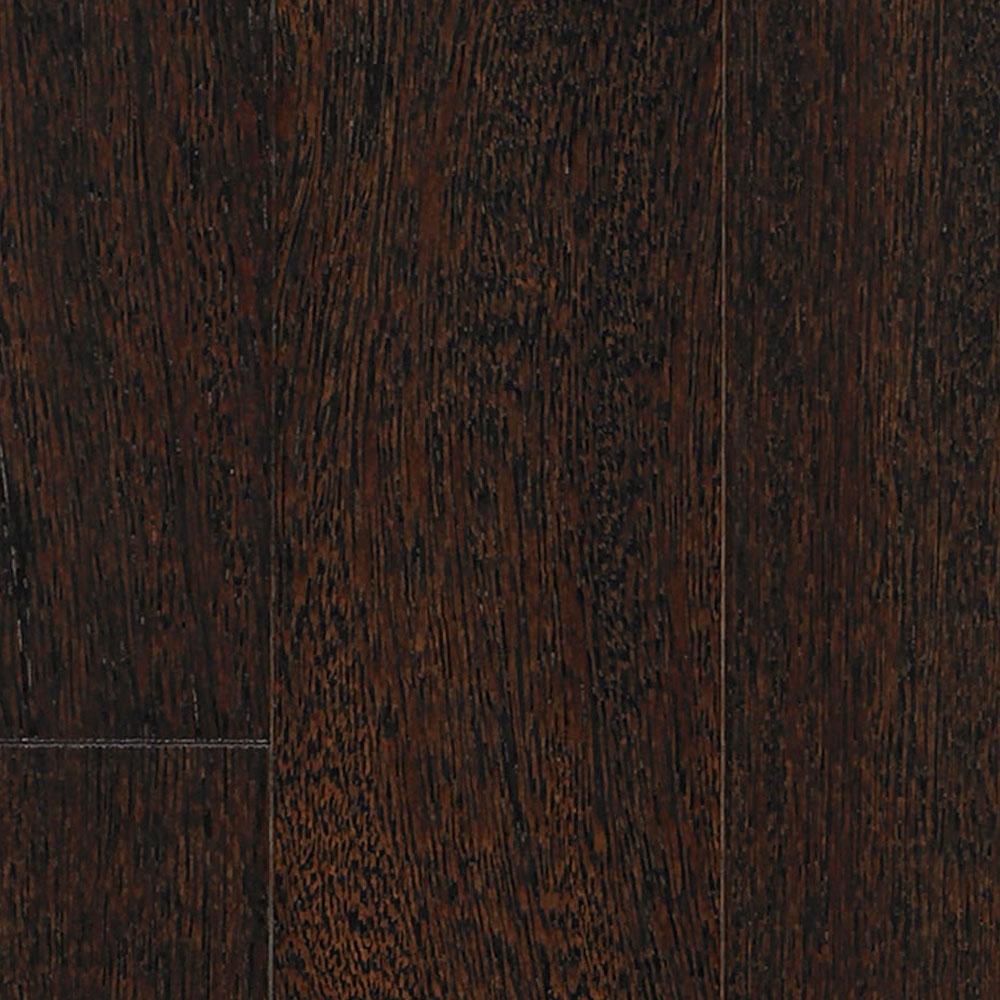 IndusParquet Solid Exotic 5/16 x 3 1/8 Brazilian Angelim Ebony (Black) Hardwood Flooring