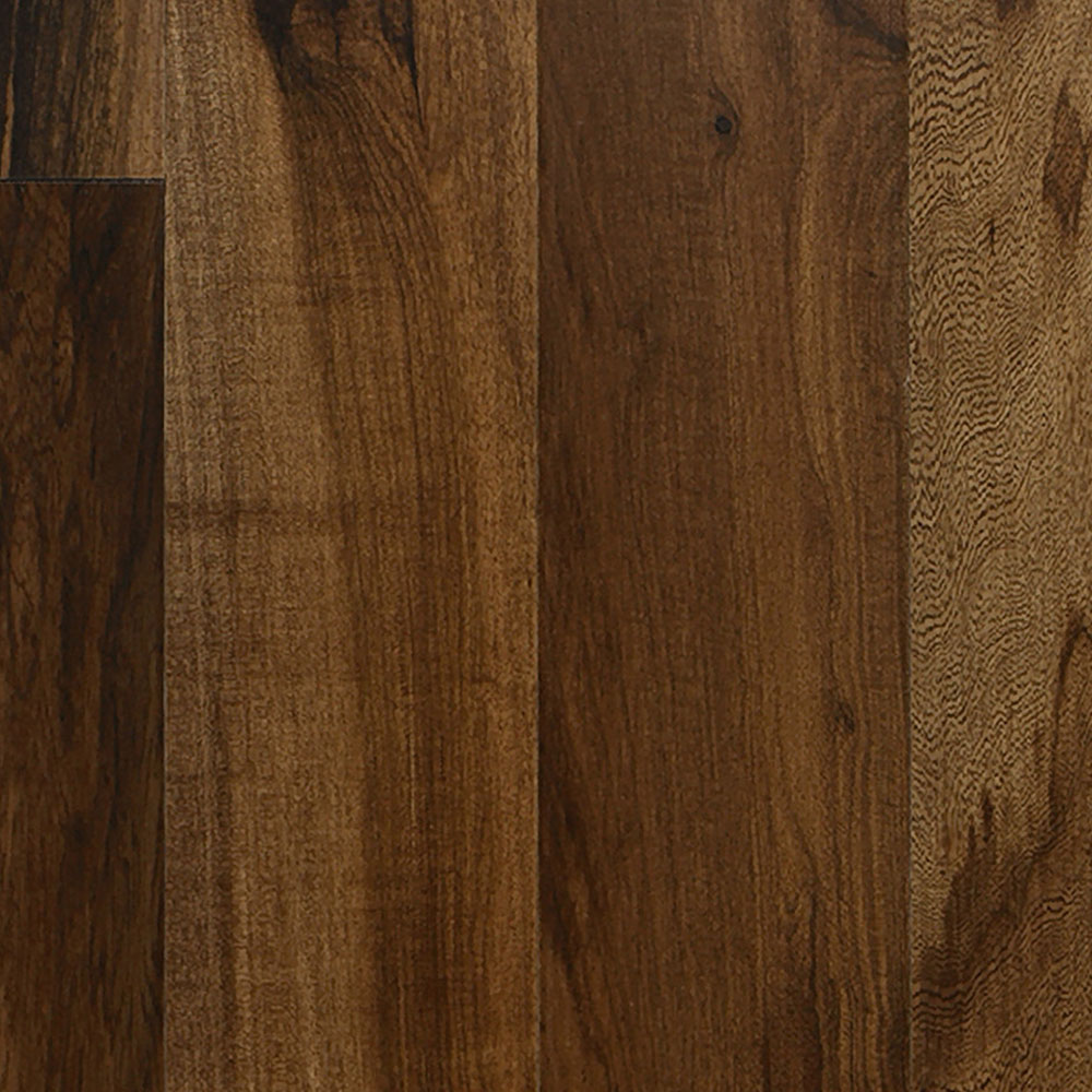 IndusParquet Solid Exotic 5/16 x 3 1/8 Brazilian Hickory Hardwood Flooring