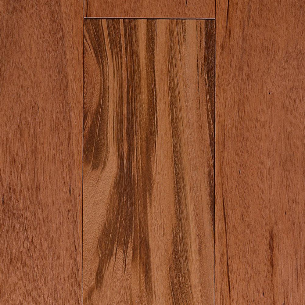IndusParquet Solid Exotic 5/16 x 3 1/8 Tigerwood Hardwood Flooring