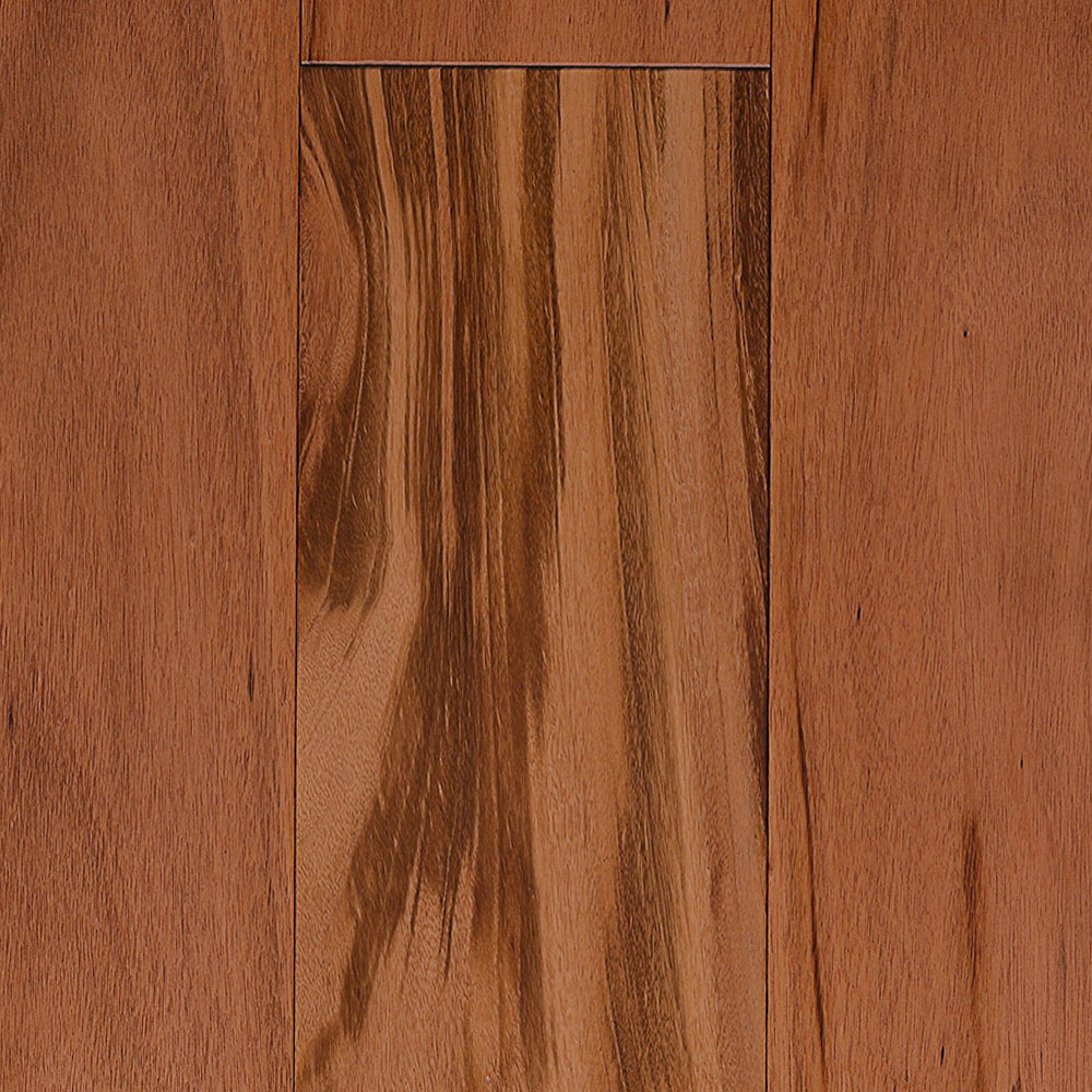 IndusParquet Solid Exotic 3/4 x 4 Tigerwood Hardwood Flooring