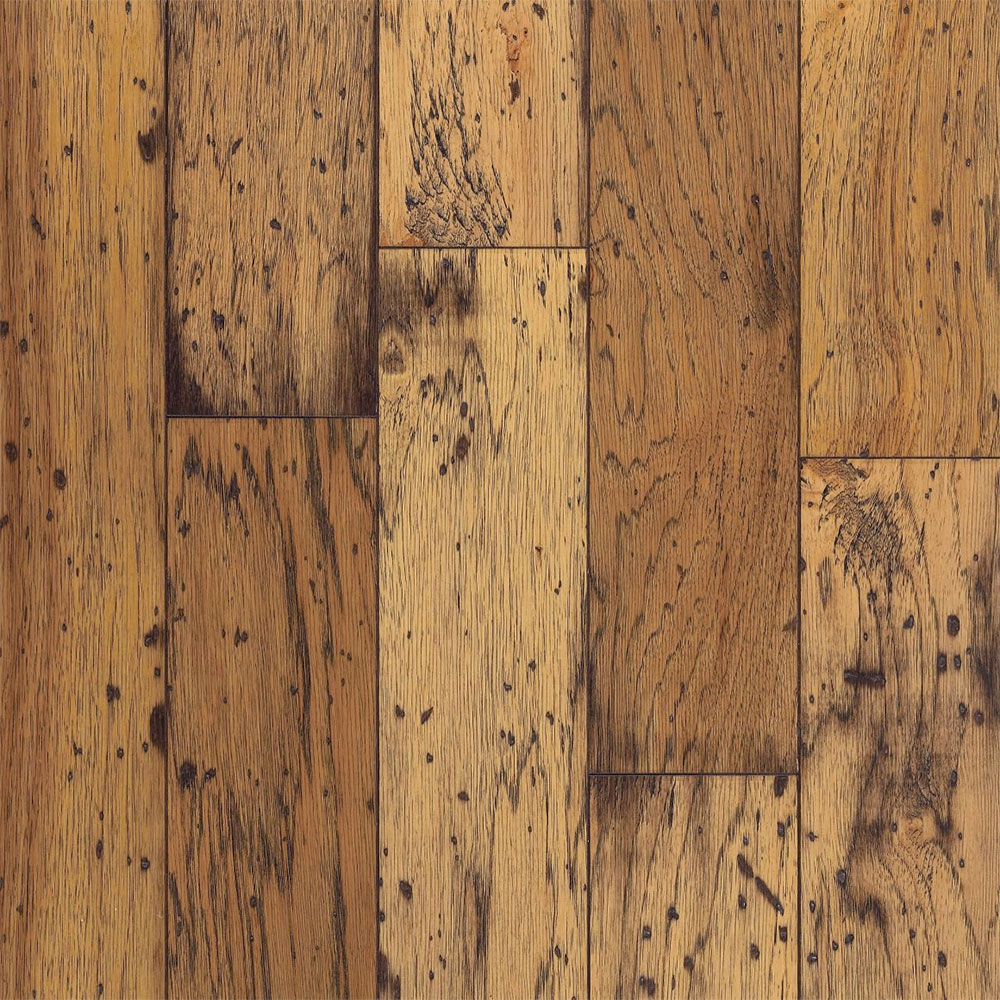 Bruce American Originals Lock & Fold Hickory 5 Antique Natural (Sample) Hardwood Flooring