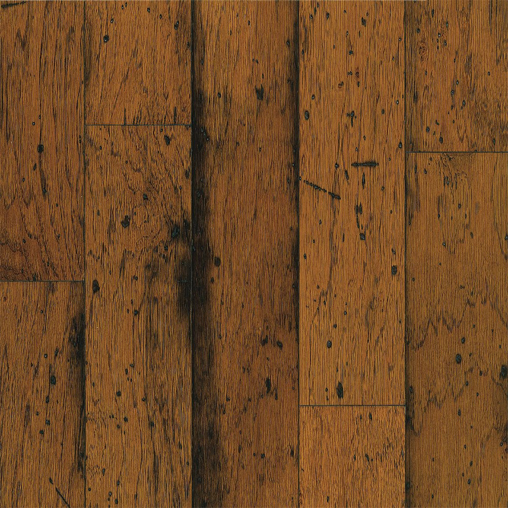 Bruce American Originals Lock & Fold Hickory 5 Sunset Sand (Sample) Hardwood Flooring
