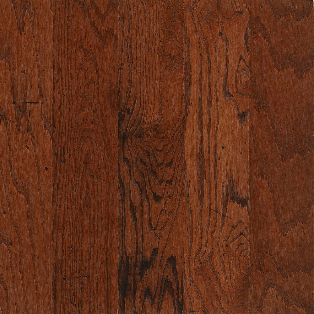 Bruce American Originals Lock & Fold Oak 5 Dakota Cherry (Sample) Hardwood Flooring