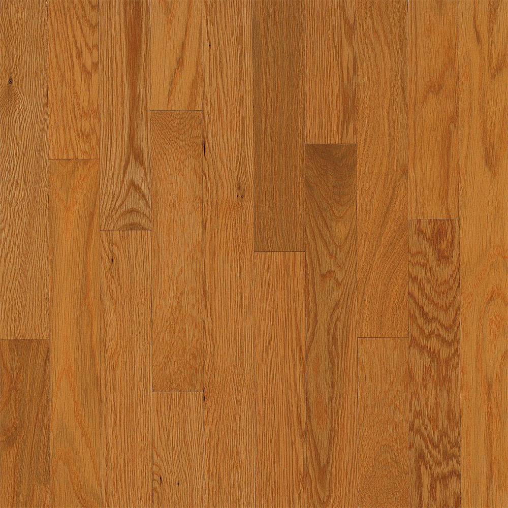 Bruce Dundee Strip 2 1/4 Butter Rum (Sample) Hardwood Flooring