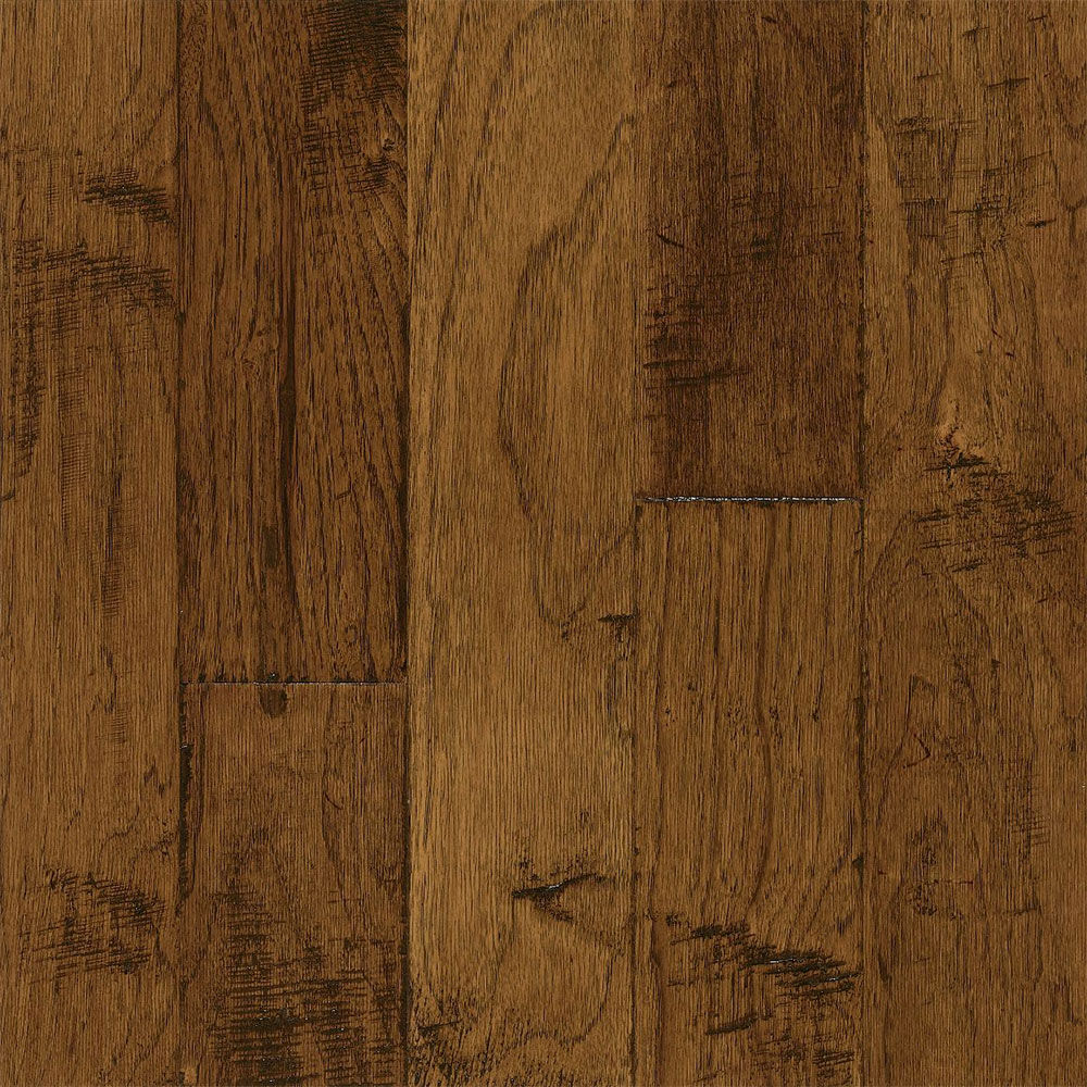 Bruce Frontier Hickory Color Brushed Sahara Sand (Sample) Hardwood Flooring
