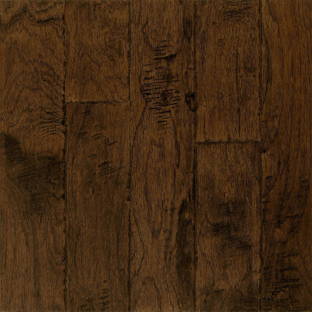 Bruce Frontier Hickory Color Brushed Tumbleweed (Sample) Hardwood Flooring