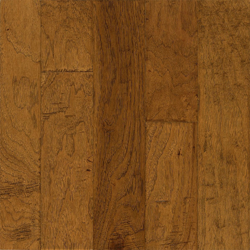 Bruce Frontier Hickory Golden Brown (Sample) Hardwood Flooring