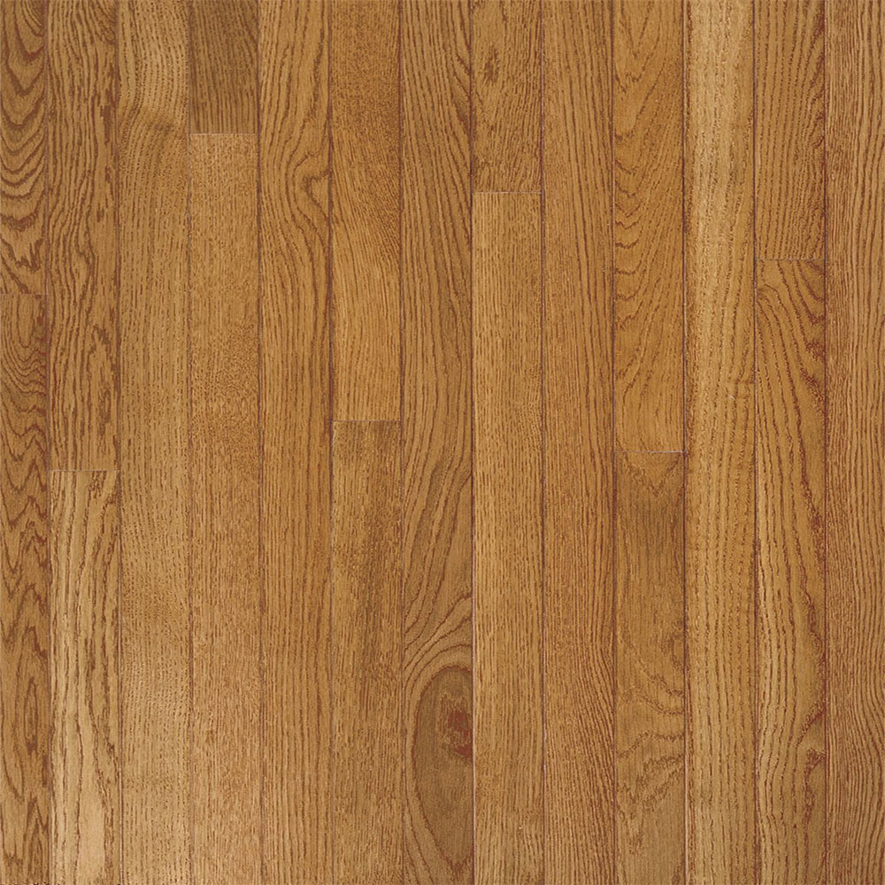 Bruce Fulton Strip 2 1/4 Low Gloss Fawn (Sample) Hardwood Flooring