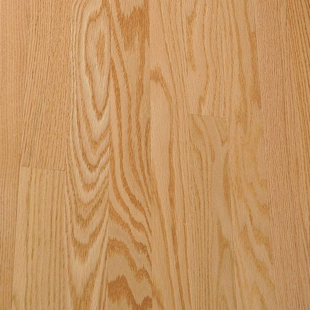 Bruce Fulton Strip 2 1/4 Low Gloss Natural (Sample) Hardwood Flooring
