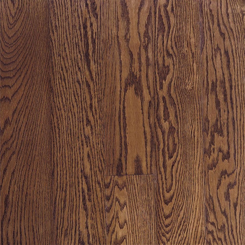 Bruce Fulton Strip 2 1/4 Low Gloss Saddle (Sample) Hardwood Flooring