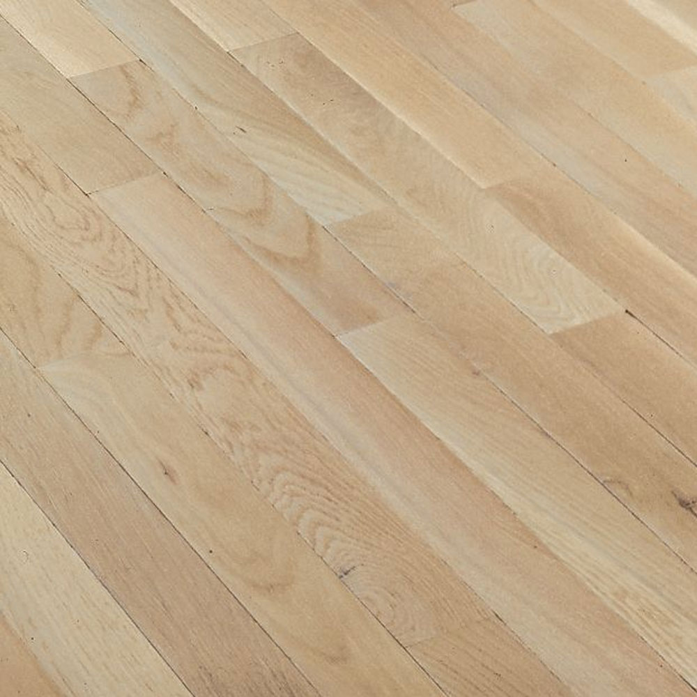 Bruce Fulton Strip 2 1/4 Winter White (Sample) Hardwood Flooring