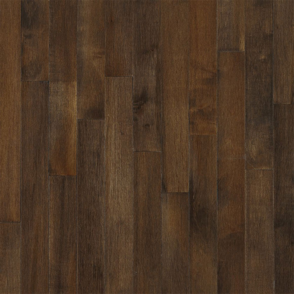 Bruce Kennedale Strip 2 1/4 Cappuccino (Sample) Hardwood Flooring