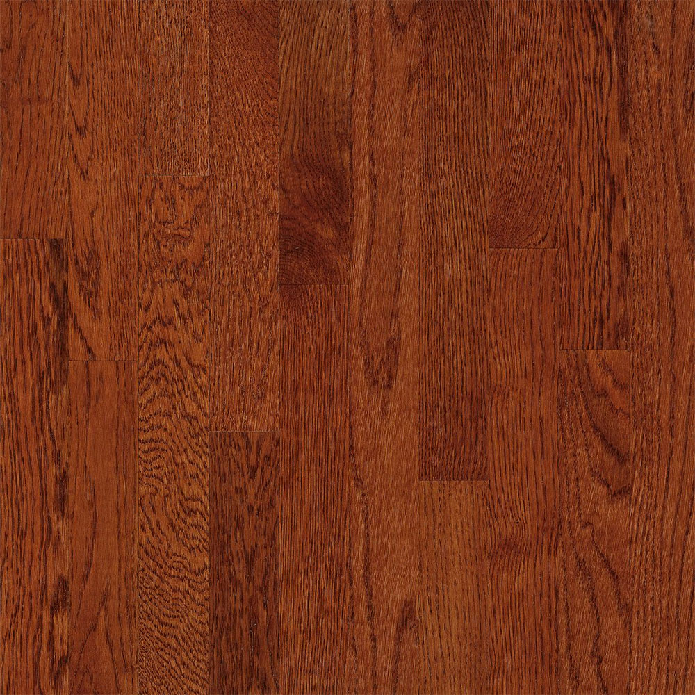 Bruce Natural Choice Strip Oak 2 1/4 White Oak Amber (Sample) Hardwood Flooring