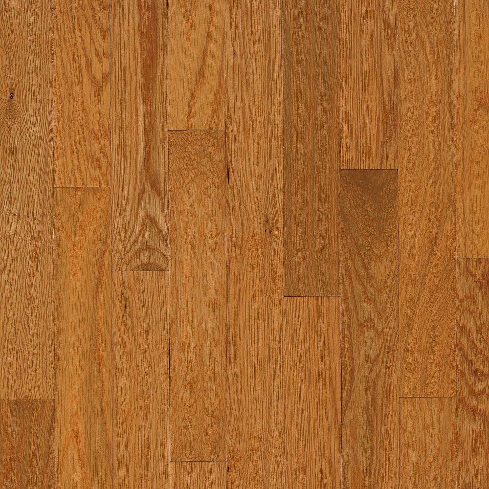 Bruce Natural Choice Strip Oak 2 1/4 White Oak Butter Rum Toffee (Sample) Hardwood Flooring