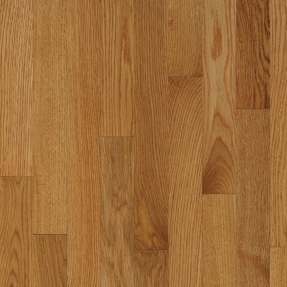 Bruce Natural Choice Strip Oak 2 1/4 White Oak Desert Natural (Sample) Hardwood Flooring