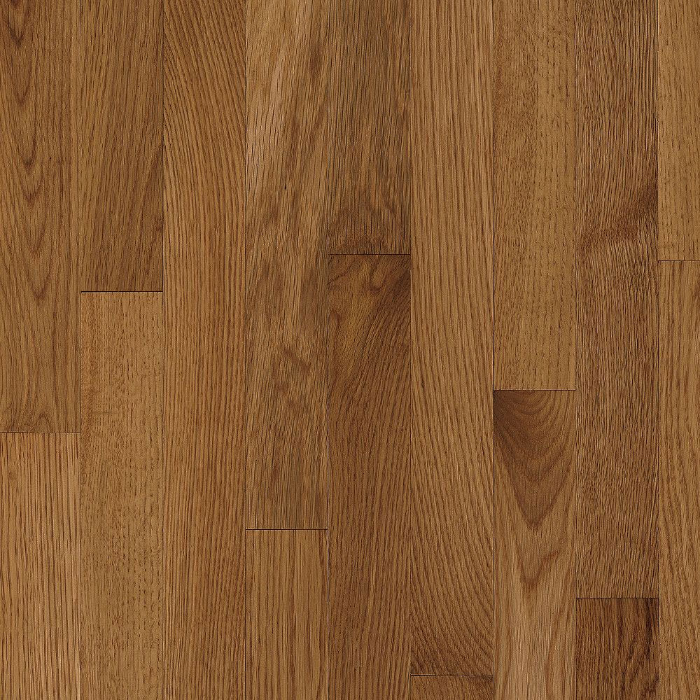Bruce Natural Choice Strip Oak 2 1/4 Oak Mellow (Sample) Hardwood Flooring