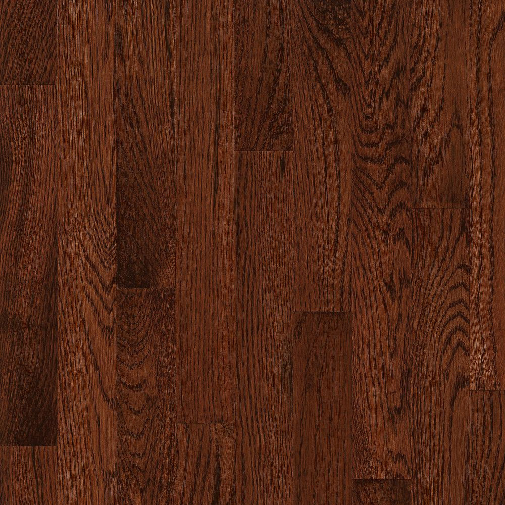 Bruce Natural Choice Strip Oak 2 1/4 White Oak Sierra (Sample) Hardwood Flooring