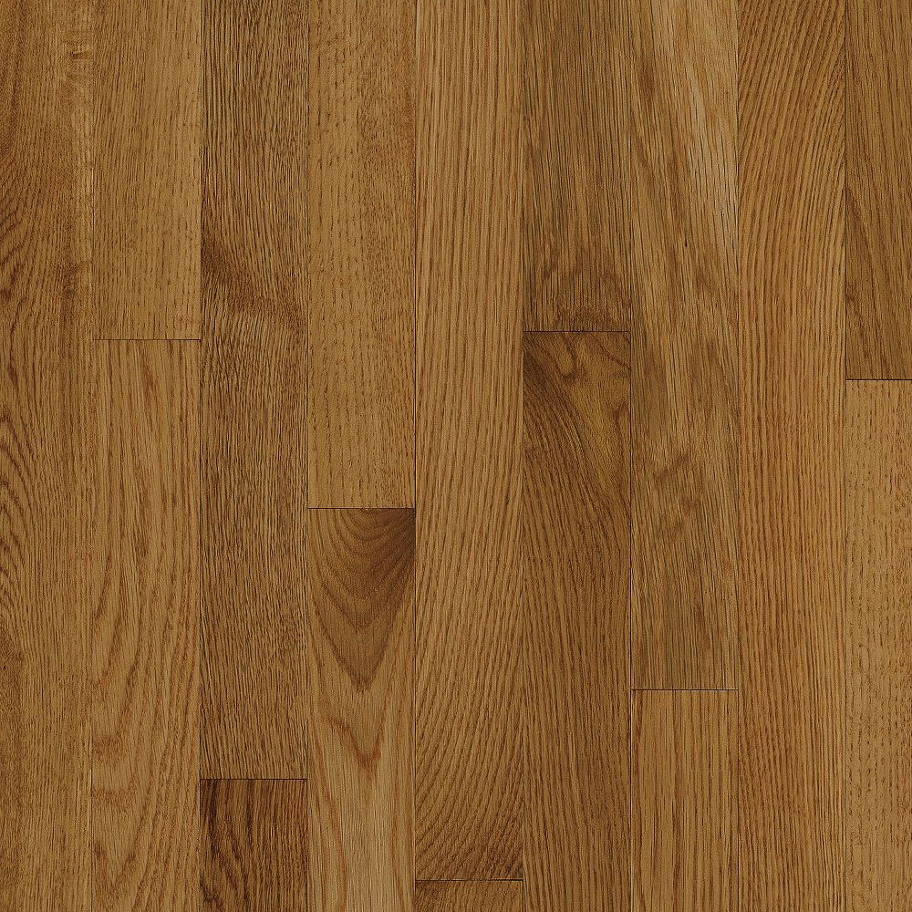 Bruce Natural Choice Strip Oak 2 1/4 White Oak Spice (Sample) Hardwood Flooring