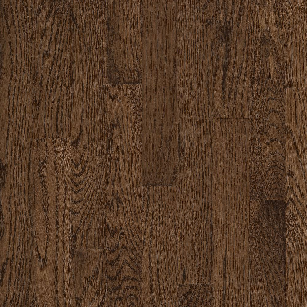 Bruce Natural Choice Strip Oak 2 1/4 Oak Walnut (Sample) Hardwood Flooring