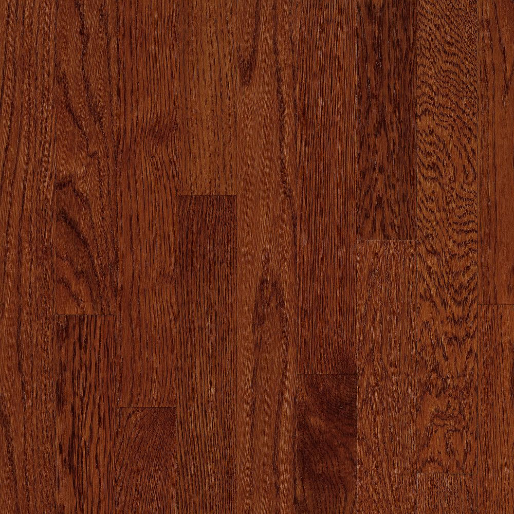 Bruce Natural Choice Strip Oak 2 1/4 - Low Gloss Cherry (Sample) Hardwood Flooring