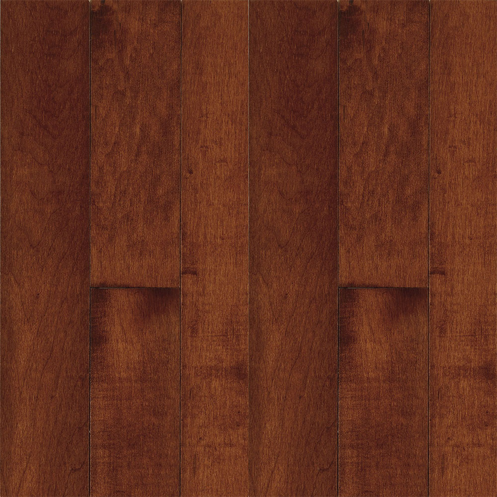 Bruce Natural Choice Strip Maple 2 1/4 Lt/Dk Maple Cherry (Sample) Hardwood Flooring