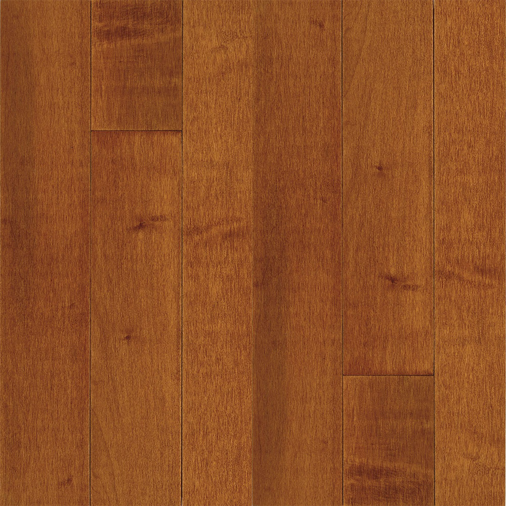 Bruce Natural Choice Strip Maple 2 1/4 Lt/Dk Maple Cinnamon (Sample) Hardwood Flooring
