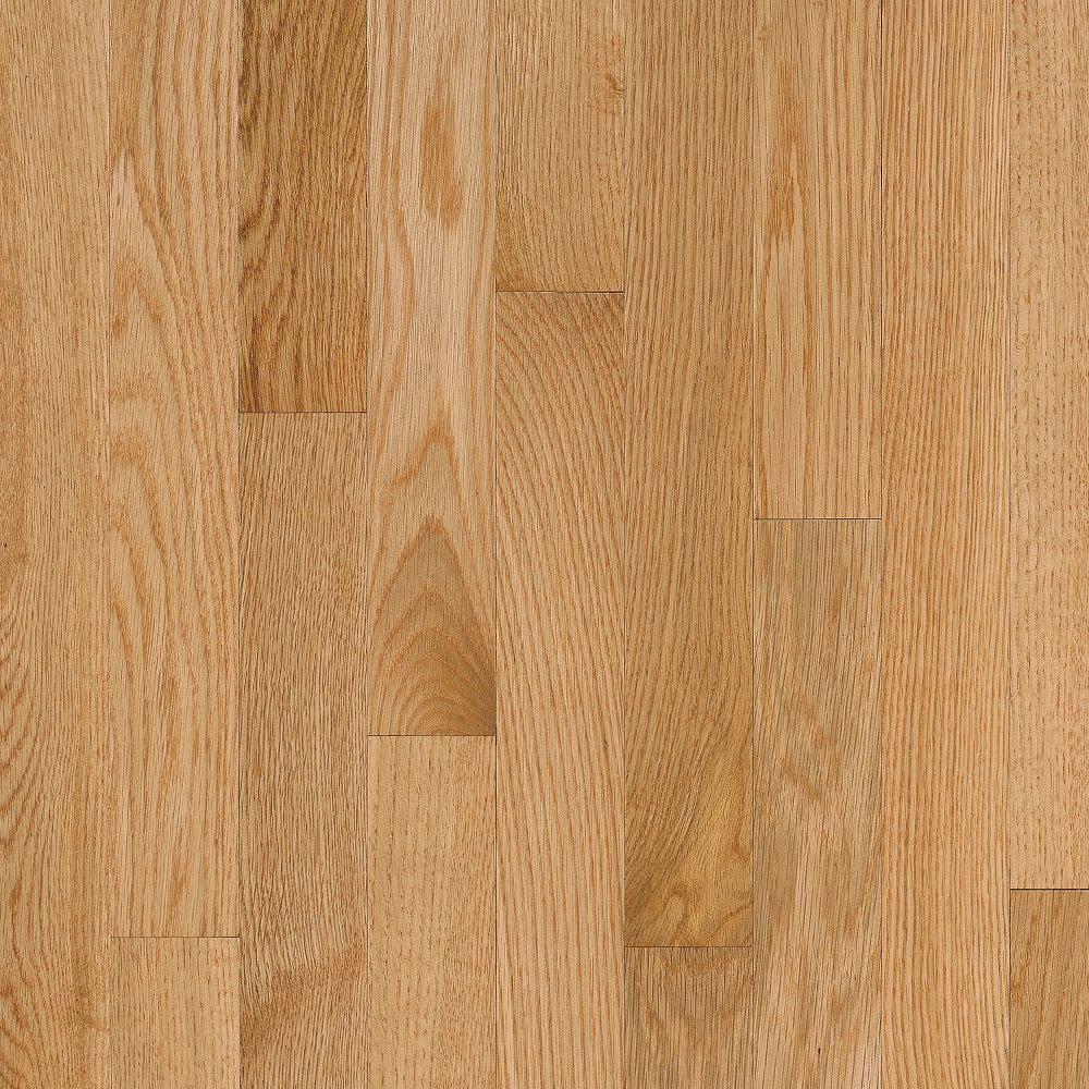 Bruce Natural Choice Strip Oak 2 1/4 - Low Gloss Natural (Sample) Hardwood Flooring