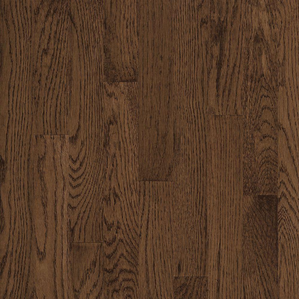 Bruce Natural Choice Strip Oak 2 1/4 - Low Gloss Walnut (Sample) Hardwood Flooring