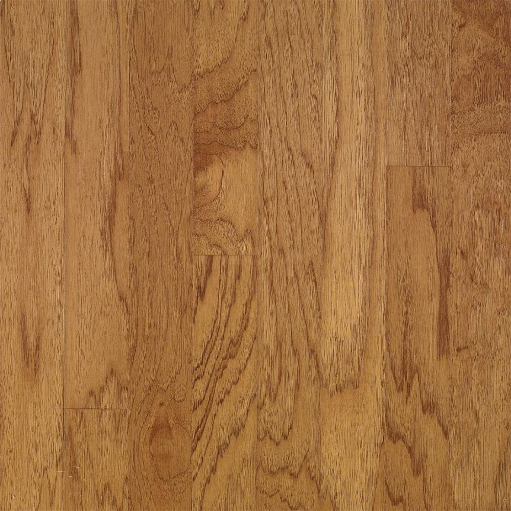 Bruce Turlington Lock & Fold Hickory 3 Golden Spice / Smokey Topaz (Sample) Hardwood Flooring