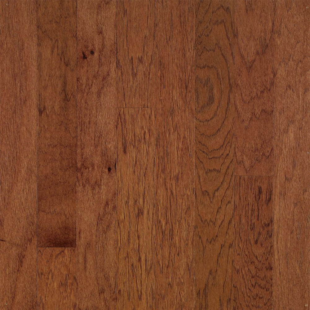 Bruce Turlington Lock & Fold Hickory 5 Wild Cherry / Brandywine (Sample) Hardwood Flooring