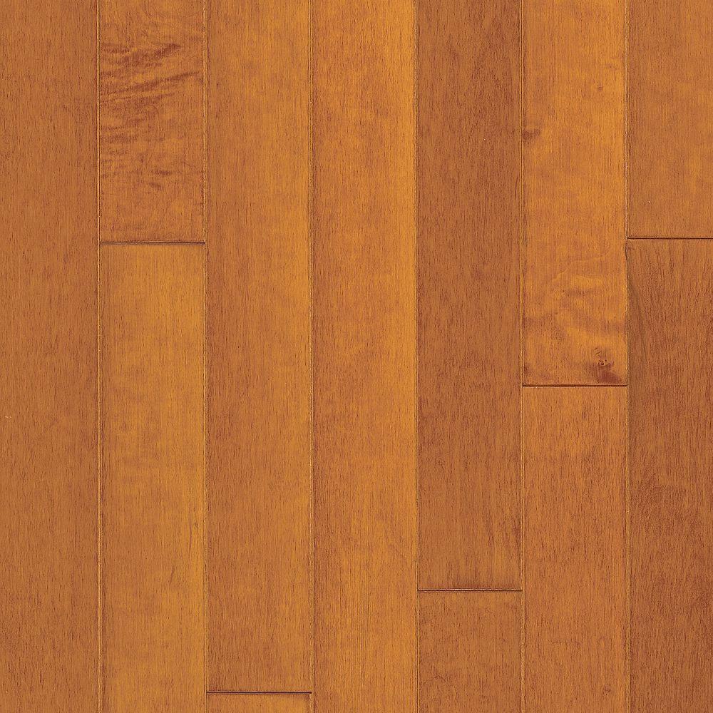 Bruce Turlington Lock & Fold Maple 3 Russet Cinnamon (Sample) Hardwood Flooring