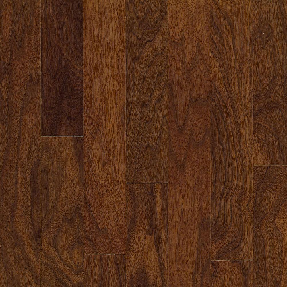 Bruce Turlington Lock & Fold Walnut 5 Autumn Brown (Sample) Hardwood Flooring